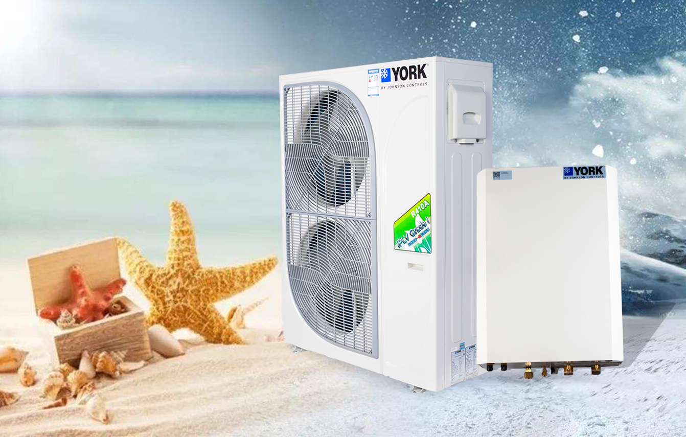 YVAS超低温全变频风冷冷水/热泵机组